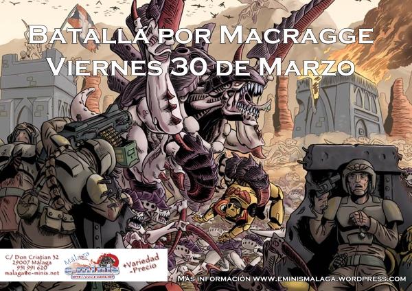 Cartel Batalla por Macragge